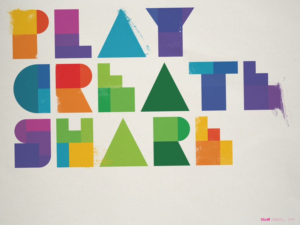 Play, Create, Share drawing by Fanclub