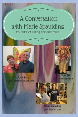 Marie Spaulding Talks about Needle Felting