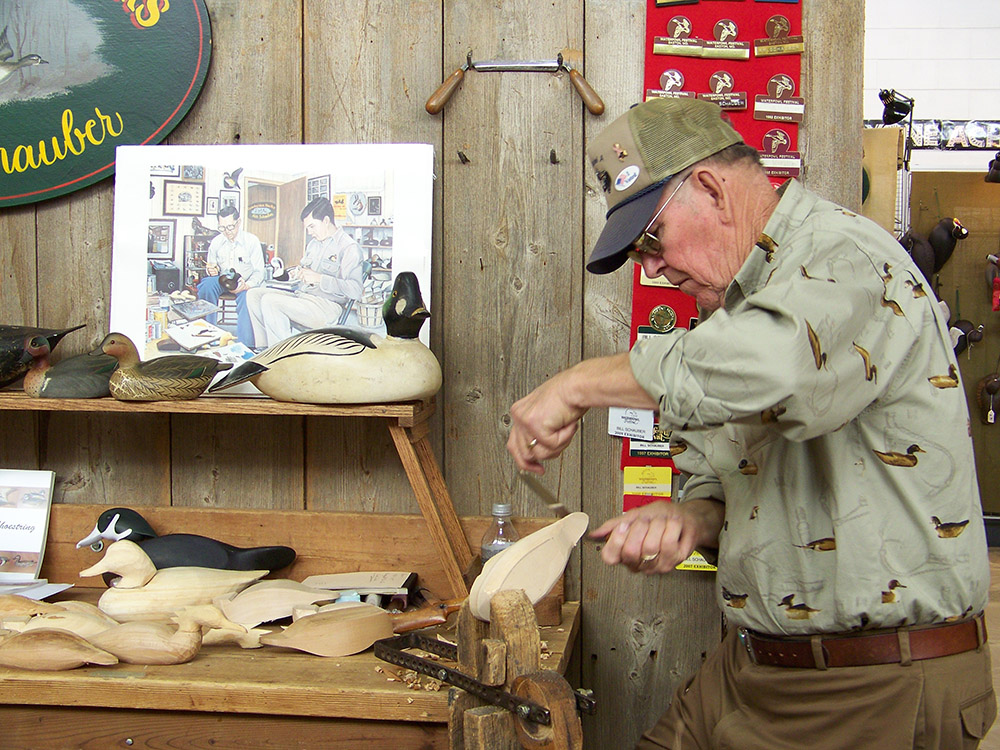 Waterfowl Festival Carving Demonstration