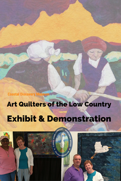 Art Quilters of the Low Country Exhibit at Historic Honey Horne Hilton Head Island SC