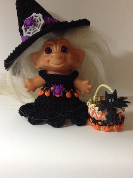 Halloween Costume for Troll Doll By liz9052 eBay Shop
