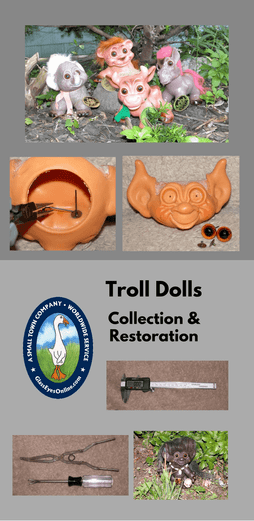 Troll Doll Collection Restoration With Debra Gewand