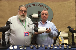 Capt. Bill Collins Booth at Waterfowl Festival