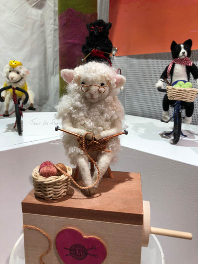 Needle Felted Lamb By Holly Bollier
