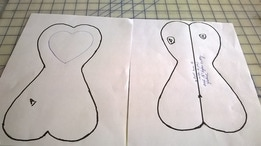 Pattern  For Folk Heart Doll