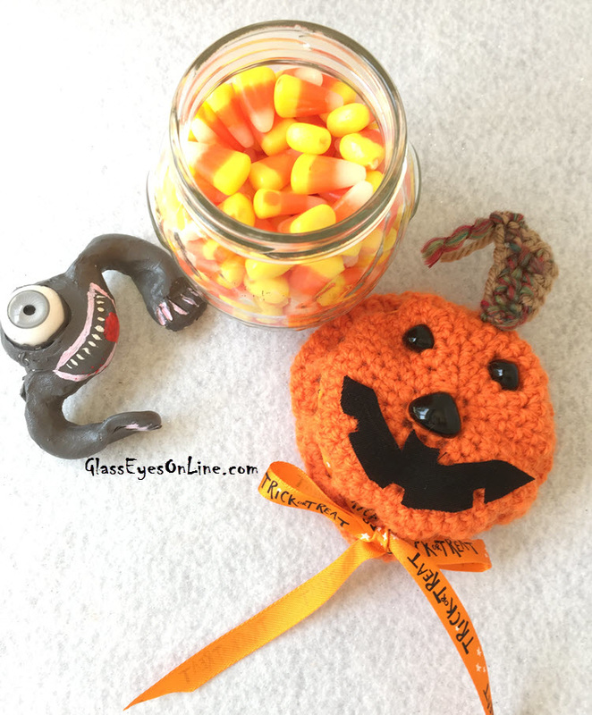 Jack O Lantern Pumpkin Crochet Pattern For Candy Jar