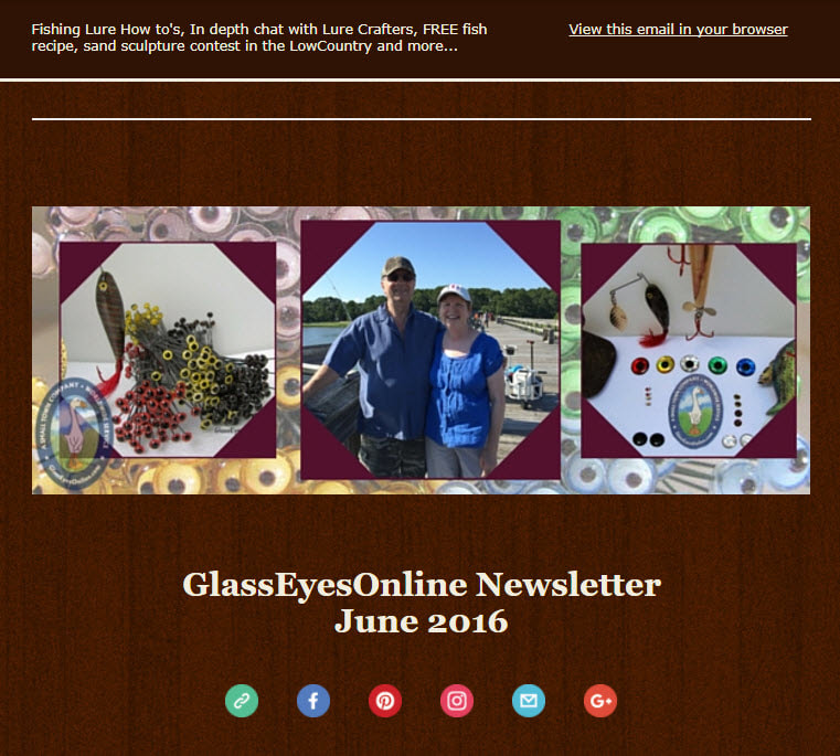 June 2017 GlassEyesOnLine Newsletter