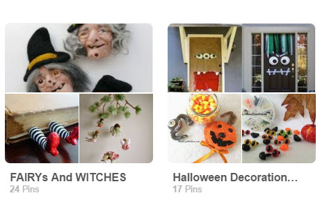 GlassEyesOnLine Halloween and Witches Pinterest Boards