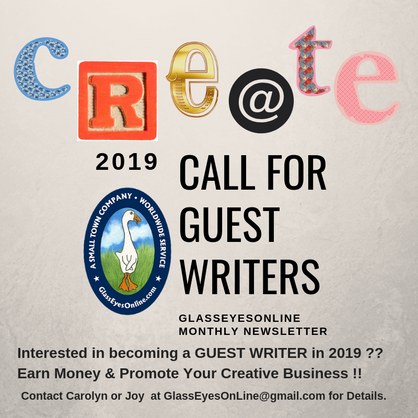 Call for Guest Writers 2019