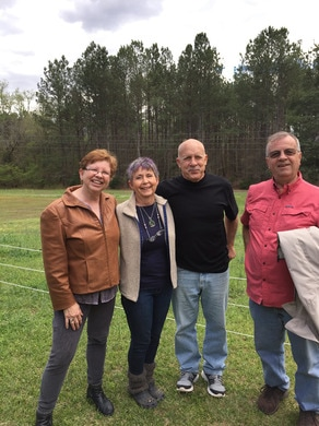 Carolyn and Jerry from GlassEyesOnLine Meeting at Jeri Lynn Farms in Kinards SC